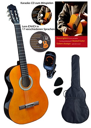Clifton Konzert-Gitarre Set