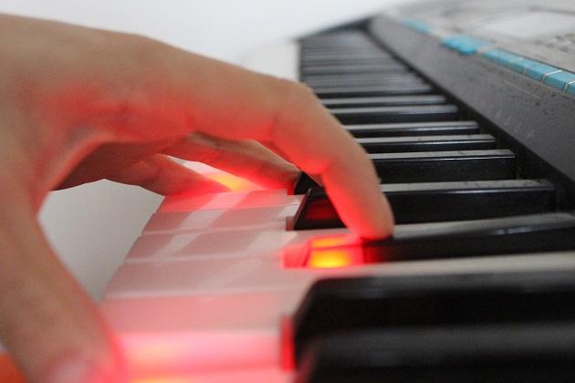 Leuchttasten Keyboard