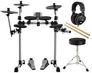 XDrum DD-400 E-Drum-Set Komplettset mit Kopfhörer