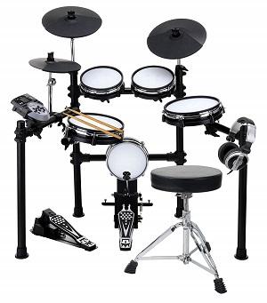 XDrum DD-530 Mesh Heads E-Drum SET mit Hocker und Kopfhörer