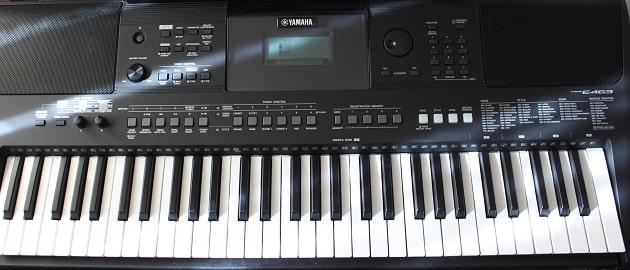 Aufbau eines Keyboards