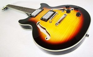 Cherrystone Semi Acoustic E-Gitarre SB