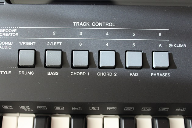 Track Control Yamaha PSR-E463