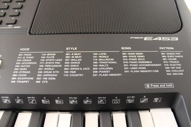 Yamaha PSR-E453 Empfehlung