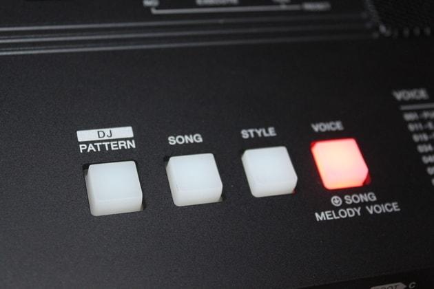 Yamaha PSR-E453 Klangfarben