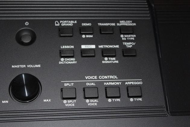 Yamaha PSR-E453 im Einsatz