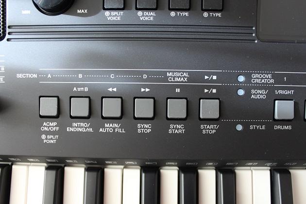 Yamaha PSR-E463 Frundfunktionen
