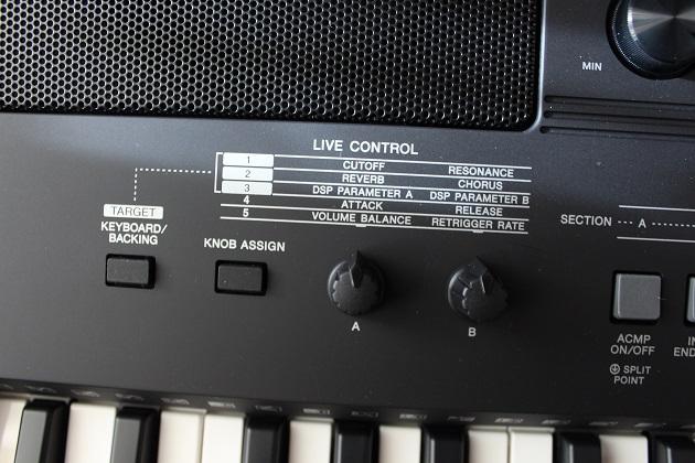 Yamaha PSR-E463 Live Control Funktionen