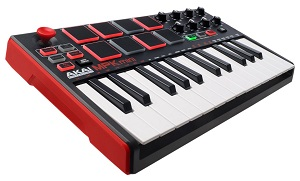 Akai Professional MPK Mini MKII Portables 25-Tasten-USB-MIDI-Keyboard