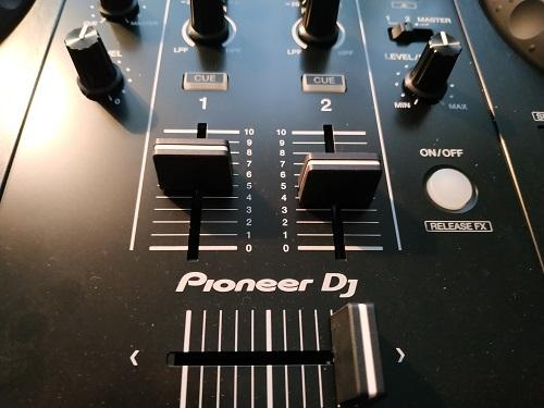 DJ Controller Funktionen mit Fader