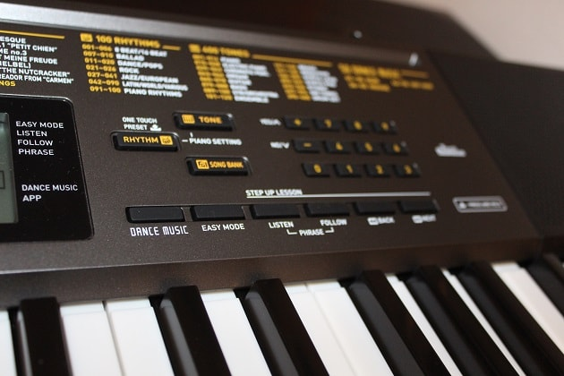 Casio LK 265 Keyboard Funktionen