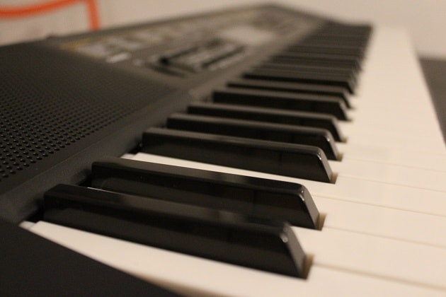 Casio LK 265 Keyboard Tasten