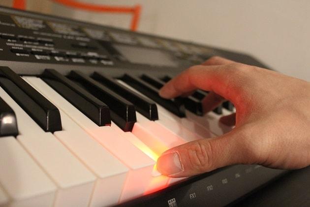 Keyboard mit Leuchttasten