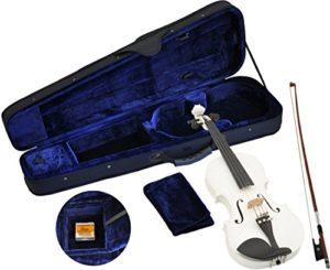 Steinbach Geige im SET, weiß
