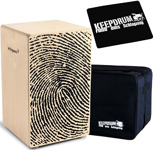 Schlagwerk Cajon + keepdrum Gig Bag