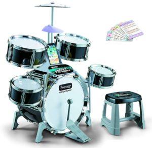GODNECE Kinder Schlagzeug Spielzeug