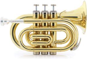 Classic Cantabile Brass TT-500 Bb-Taschentrompete Messing