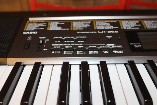 Casio-LK-265-Keyboard Bedienung Instrument