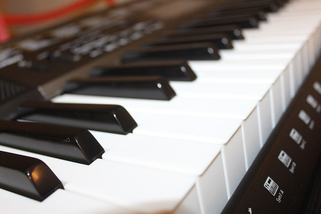 Casio-LK-265-Keyboard-Instrument Tasten