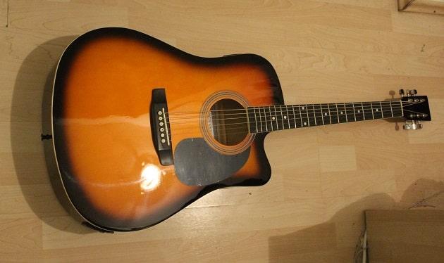 Einsteiger Westerngitarre für Anfänger